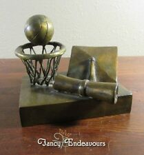 Philip Henry Augerson (1916 - 2002) Bronze Basketball Hoop Graduate Diploma