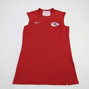 Kansas City Chiefs Nike OnField Sleeveless Shirt Men's Red Used