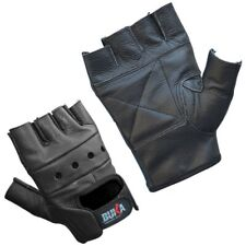 FULL LEATHER GYM GLOVES FITNESS WEIGHT LIFTING TRAINING BODYBUILDING CROSSFIT