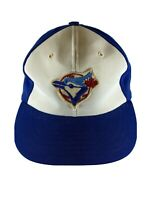 VTG TORONTO BLUE JAYS BASEBALL HAT CAP PATCH YA BRAND ADJUSTABLE SNAPBACK