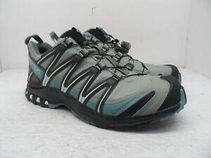 Salomon Women's XA Pro 3D CS WP Trail Hiking Shoe Shadow/Black/Arctic 10.5M