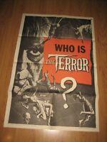 The Terror Original 1sh Movie Poster