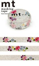 MT Washi Masking Deco Tape Beautiful Flowers Design