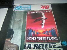 **a  Le journal de la France les années 40 n°137 L'Indochine française