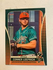 Conner Loeprich 2019 Greensboro Grasshoppers Team Card
