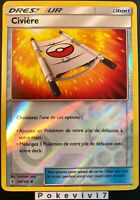 Carte Pokemon CIVIERE 130/145 REVERSE Soleil et Lune 2 SL2 FR NEUF