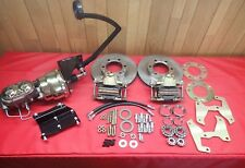 1947-1954 Chevrolet truck power front disc brake conversion 6 lug roller bearing