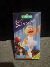 Sesame Street - Zoes Dance Moves (VHS, 2003)