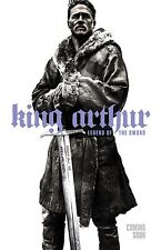 King Arthur movie poster (a) - 11 x 17 inches - Charlie Hunnam