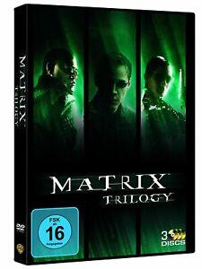 Matrix - Teil: 1 - 3 (Trilogy) [DVD/NEU/OVP] mit Keanu Reeves, Laurence Fishburn