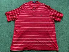 MENS POLO RALPH LAUREN 100% PIMA COTTON STRIPED RED COLLARED SHIRT SIZE 4XLT