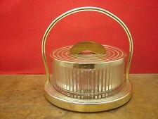 Jolie ancienne boîte à gateaux, 1930, Art Déco