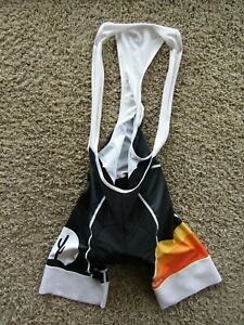 Voler Triathalon The Cycling House Blk/White Padded Cycling One Piece Suit Men S