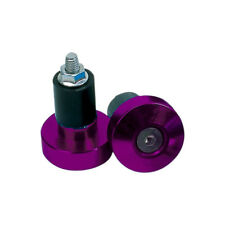 Oxford BarEnds Purple Motorcycle  Bar End Weights - 22mm Handlebars OF874 OLD T