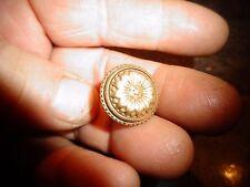 Ancienne Petite Poignée Bronze Bouton de Tiroir Coffre Coffret Porte Boite