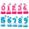 32'' Number Foil Balloons Giant Digit Happy Birthday Party Decor Baby Shower HOT
