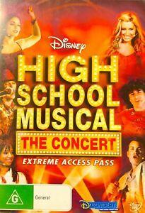 V14 Brand New Sealed-High School Musical - The Concert (DVD, 2007) R4 Rare