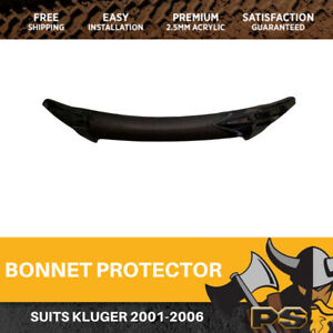 Bonnet Protector to suit Toyota Kluger 2001-2006 Tinted Guard