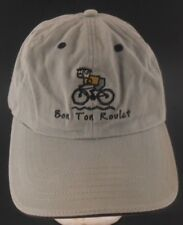 Bon Ton Roulet Bicycle Tour Finger Lakes New York NY Strapback Cap Hat