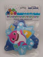 Baby Shark Jointed Doo Doo Doo Party Banner New In Package Birthday