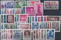 DDR Jahrgang 1955 , postfrisch , Auswahl aus Michel Nr. 447 - 509