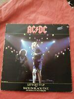 "AC/DC: Let's Get it Up/Back in Black/T.N.T (1981) 12"" Vinyl Single"