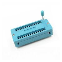 ZIF Sockel 28 polig DIP28 Socket IC; 0,6 inch ; 15,2mm ; MCU ZIF28 #A1691
