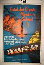 Trouble in the Sky Original 1sh Movie Poster 1960 Michael Craig, Peter Cushing