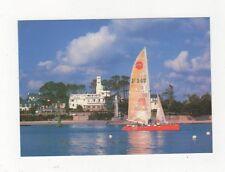 Benodet Depart Pour La Haute Mer Bretagne France Postcard 366a ^