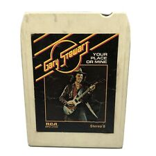 Gary Stewart 8 Track RCA Your Place Or Mine 1977 Vintage Country Rock