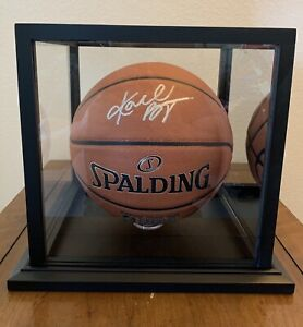 Kobe Bryant Signed/Auto Basketball With Display Case