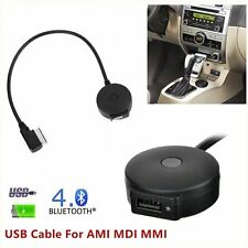 AMI MMI MDI Wireless Bluetooth Adapter USB Cable MP3 For Audi A5 A6 Q3 Q5 Q7 A8L