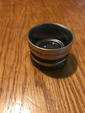 Kenko 0.5X Wide Angle Conversion Lens KGW-05 Manual Made in Japan