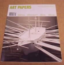 ART PAPERS Magazine March/ April 2007 Striking Ideas Moving Images Smart Texts