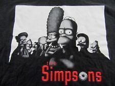 Vintage THE SIMPSONS Famous Mafia Family Parody souvenir T Shirt Size XL