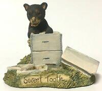 Vintage Schmid BFA Lowell Davis Sweet Tooth Honey Bear Figurine RFD America