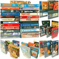Big VHS Bundle -- 25 Titles -- Horror Sci-Fi  Fantasy Animation Western Strange