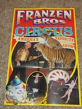 TOBY TYLER 3 Ring CIRCUS Souvenir MAGAZINE and Pictorial Review 1985