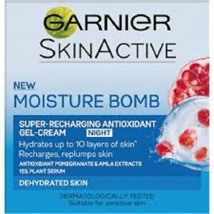 Garnier Skin Active Moisture Bomb NIGHT Antioxidant Gel Cream 50ml