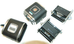 2X Hasselblad A12 Chrome Film Backs. For Spare Parts?
