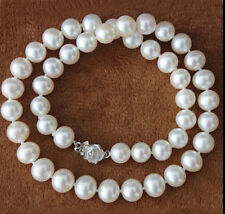 AAAA 8-9mm White South Akoya Sea Pearl Necklace 18''LL3003