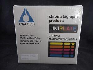 ANALTECH 150um 10 x 20cm Thin Layer Chromatography Plates Silica Gel 25/PK 56027