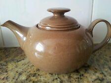Full sized  Denby Pot Bellied Teapot T Pot Brown pottery