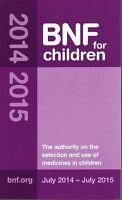 BNF for Children 2014 - 2015 (British National Formulary for Children)-ExLibrary