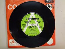 """DAVE CLARK & FRIENDS:Think Of Me-Right Or Wrong-U.K. 7"""" 72 Columbia DB 8862 Demo"""