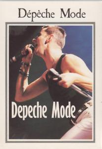 Depeche Mode Carte Postale Postcard 189