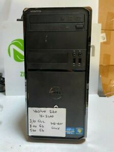 Dell Vostro 260 Tower Intel Core i5 2400 3.10Ghz 8GB 500GB DVDRW Linux Installed