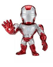 """Marvel Loot Crate DX Exclusive 6"""" Light Up Iron Man Mark V Die-Cast Metal Figure"""