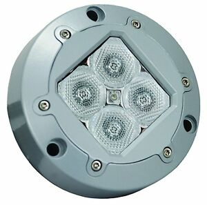 Vision X XIL-U41W Subaqua White Wide Beam Underwater Led with Four 3-Watt LEDs