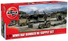 Airfix 1:72 WWII Bomber Re-Supply Dioramas and Buildings Model Set